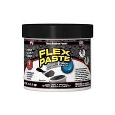 Flex Seal Paste Black Super Thick Rubber 1 Lb Jar Free Shipping