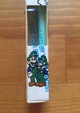 "Vtg RARE 1991 ""Two Luigis"" ERROR Nintendo Super Mario Toothbrush Dentist PROMO!"