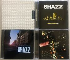 SHAZZ *RARE* 4x DJ CD Lot BACK IN MANHATTAN EP Joe Claussell OSUNLADE Kevin Yost
