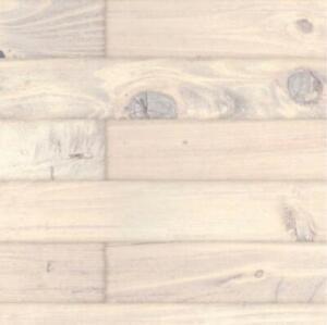 Puppenhaus Weiß Gewaschen Alt Dielen Miniatur Bodenbelag Glänzend Karte Blatt
