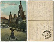 36321 - Heilbronn - Kilianskirche - Feldpostkarte, gelaufen 15.8.1916