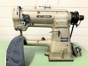 MITSUBISHI CU-865 CYLINDER BED WALK FT BIGBOB 110VOLT INDUSTRIAL SEWING MACHINE