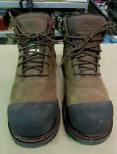 Worx X Red Wing Men's US 11 M Resistant Gravel Work Boot Brown 5906 EH