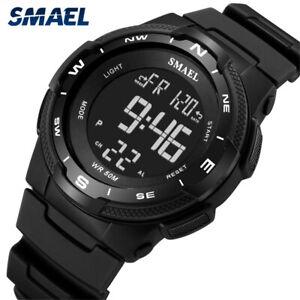 SMAEL Men Electronic Watch Fashion Digital Sport Watches for Boys LED Wristwatch