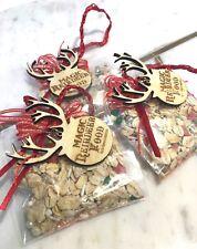 Deluxe Magic Reindeer Food Christmas Reindeer Food - Wooden Tag x 1BAG