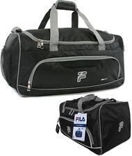 FILA Victory Small Sport Duffel Bag  - Black/Grey