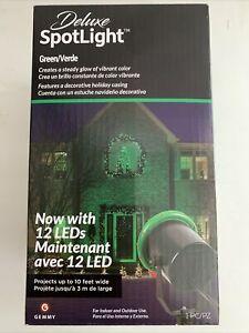 Holiday Delux Spotlight Green