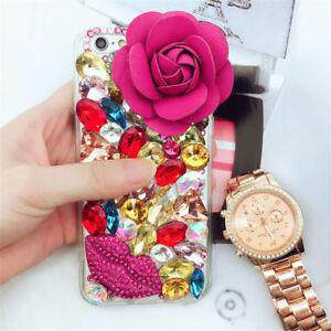 Glitter Luxury Crystal Bling Rhinestone Diamonds Soft TPU Gel Case Cover B14
