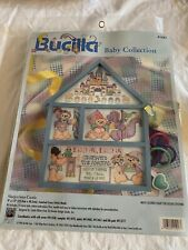 Sleepy Castle Counted Cross Stitch Hutch Kit Bucilla Baby Collection sealed