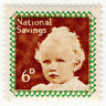 (I.B) Cinderella Collection : National Savings - Princess Anne 6d (1953)