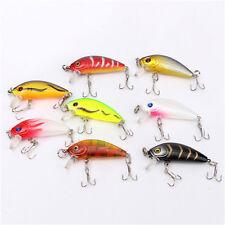8 Mini Lures Light Fishing Rattling Jig Spinner Lrf Perch Trout Chub Pike Crank