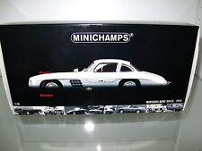 1:18 Minichamps, Mercedes-Benz 300 SL Gullwing Flügeltürer 1954 silber OVP