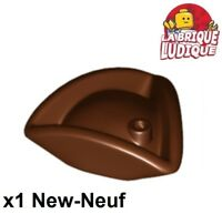 Lego - 1x Minifig hat hat pirate tricorn brown/reddish brown 2544 NEW