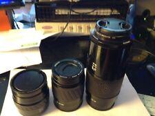 Minolta Lens SET 35-70, 70-210, 80-200