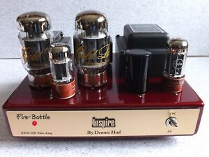 STEREO TUBE AMPLIFIER INSPIRE by DENNIS HAD CLASS A SINGLE ENDED KT88 AMPLIFIER