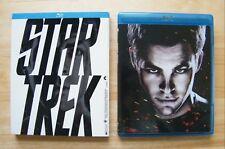 Star Trek Blu-ray 2009 Chris Pine 3-Disc Set Special Edition Digital Copy