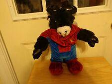 RARE BEAR FACTORY NANCO DIABLO THE DEVIL BULL SPIDERMAN OUTFIT PLUSH DOLL FIGURE
