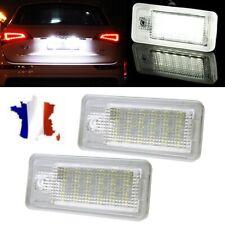 Feux Eclairage de Plaque LED Audi A3 8P A4 B6 B7 RS4 A5 A6 4F A8 S8 4E 4H Q7 4L