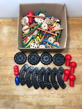 Tinkertoys Over 100 Pieces Ultra Construction Set Incomplete