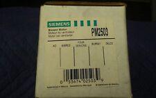 HVAC Blower Motor Front SIEMENS PM2503
