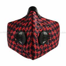RockBros Bicycle Cycling Anti-dust Half Face Mask with Filter Neoprene Red