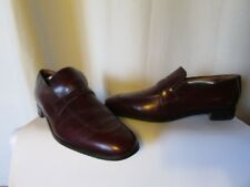 Shoes Vintage church's Made IN England Size 12 C Leather Bordeaux
