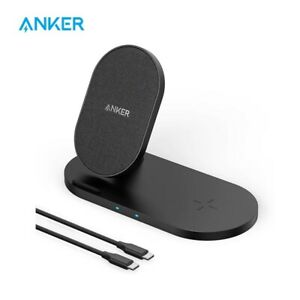 Anker Wireless Charging Station Power Wave Sense 2-in-1 Station For iPhone