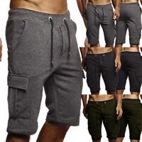 Summer Men's Casual Comfy Shorts Baggy Gym Sport Jogger Sweat Beach Pants US