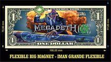 Megadeth Rust in Peace IMAN BILLETE 1 DOLLAR BILL MAGNET