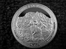 10 - 2012 S  DENALI  QUARTERS FROM PROOF SETS - LOT