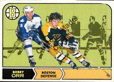 Custom made Topps  1968-69 Boston Bruins Bobby Orr hockey card black