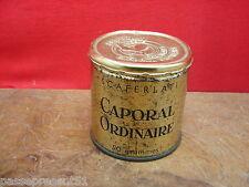 Jolie ancienne boîte tôle, Scaferlati, Caporal ordinaire, 50 grammes, France