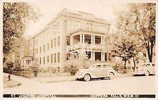 Wisconsin WI Real Photo RPPC Postcard 1945 CHIPPEWA FALLS ST Joseph's Hospital