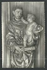 Postal antigua de San Antonio de Padua andachtsbild santino holy card santini