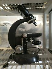 Vintage Carl Zeiss Microscope w/ 1 Carl Zeiss Objective -8438