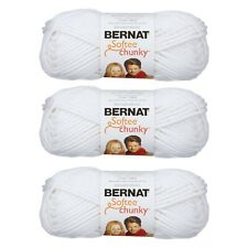 Bernat Softee Chunky Yarn, 100G/3.5OZ Super Bulky Yarn 3 Pack