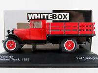 WhiteBox WB290 Ford AA Platform Truck (1928) in rot/schwarz 1:43 NEU/OVP