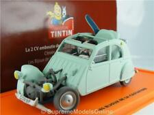 CITROEN 2CV TINTIN MODEL CAR 1:43 SCALE PACKAGED CLASSIC ISSUE K8Q
