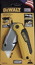 DeWalt: DWHT10035 Folding Retractable Utility Knife w/3 Blades