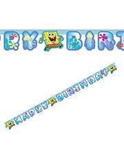 Festone Banner  Spongebob  , Arredo Festa Compleanno Nickelodeon  *20303