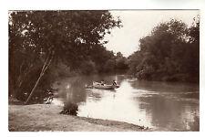 River Jordan - Real Photo Postcard circa 1920s