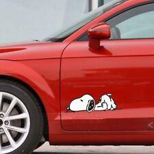 Cute Snoopy Dog lying car decal car sticker - 1pc (Head position as photo)