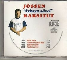 (CW960) Jossen Karsitut, Syksyn Save - DJ CD