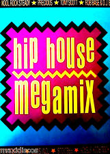 CAS - Various - Hip House Megamix (HOUSE) MINT, FACTORY SEALED LISTEN*PRECINTADO