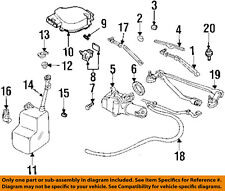 GM OEM-Windshield Wiper Motor 19179662