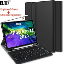 For iPad Pro 11 2020 & 2018 Tablet Keyboard Cover Case Stand+Wireless Keyboard