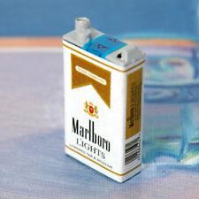 Marlboro LIGHTS Cigarette Fridge Magnet Tobacco Mini Box Miniature Dollhouse