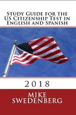 Study Guide for the US Immigration Test in English and Spanish Book