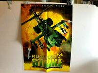 Nuclear Strike Game Poster Double Sided Vintagre Eletronic Arts N64 PC