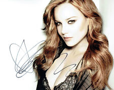 Abbie CORNISH DUSK SIGNED Autograph Photo 1 AFTAL COA Australian Actress Rapper